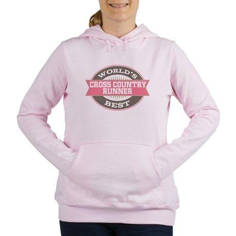 cross country runner Womens Hooded Sweatshirt