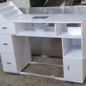 Source Manicure station Nail Technicians Salon Manicure Table TKN-125L on m.alib...