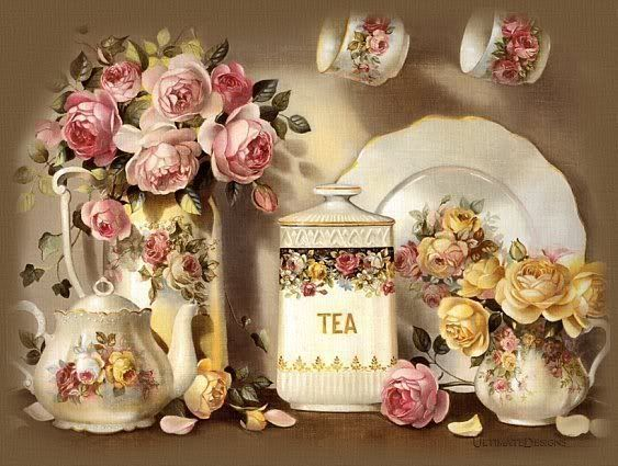 Vintage Victorian Tea Set Roses Photo: This Photo was uploaded by sweetie259pie. Find other Vintage Victorian Tea Set Roses pictures and photos or uploa...