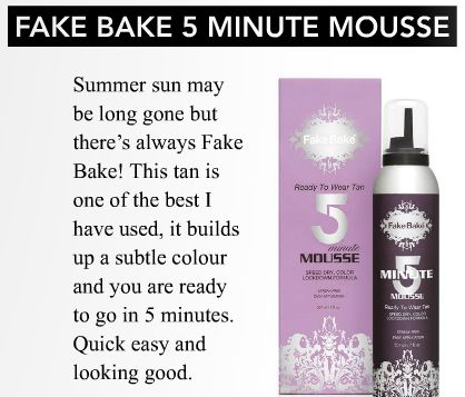 5 Minute Mousse - Look Magazine.