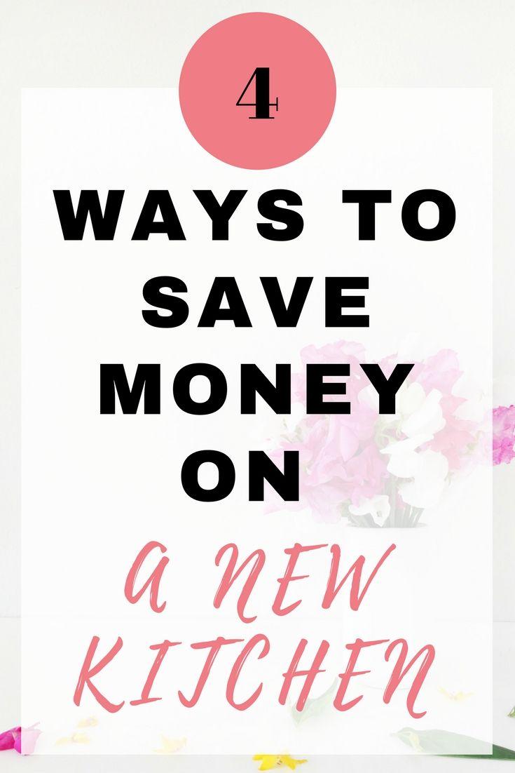 4 Ways to Save Money on a New Kitchen - EmmaDrew.Info #SaveMoney #NewKitchen #Budget