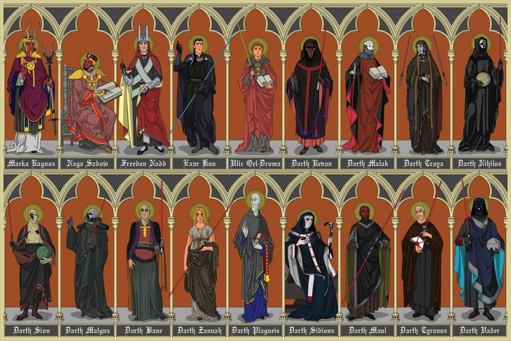 Dark Lords of the Sith by https://www.etsy.com/nz/shop/dthains on Etsy #starwars