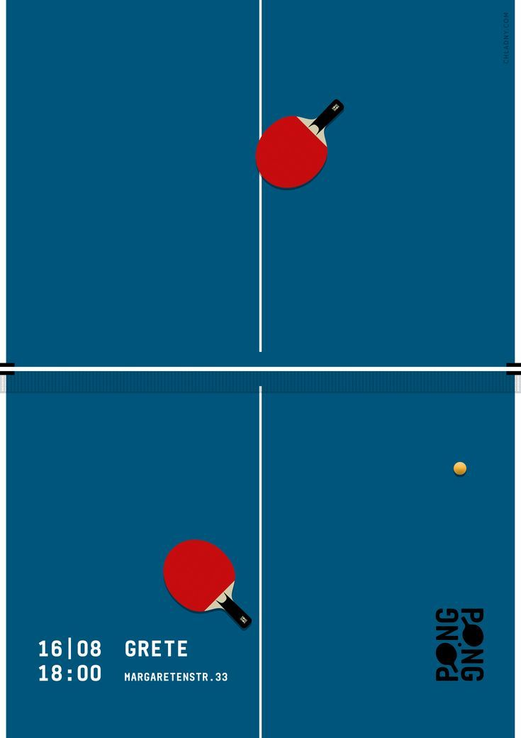 2016 Christian Chladny Www Chladny Com Ping Pong Table Tennis Poster Identity Art D Sport Poster Design Creative Poster Design Event Poster Design