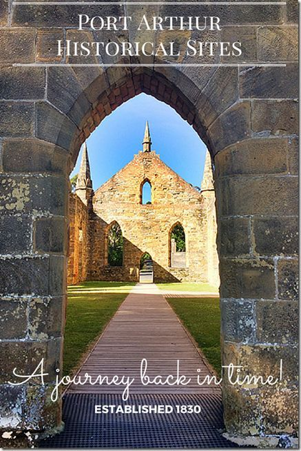 Incredible history that lies in waiting for you to discover here at Port Arthur Historical Sites in Tasmania (Australia).  With such epic stories to tell, no wonder this site has received UNESCO World Heritage Listing!  Please click to read our blog post for more info!