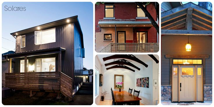 Solares Architecture offers sustainable cottage or home design with their team of expert architects to ensure you comfort and delight. #PassiveHouse #SustainableHouse http://bit.ly/solarch