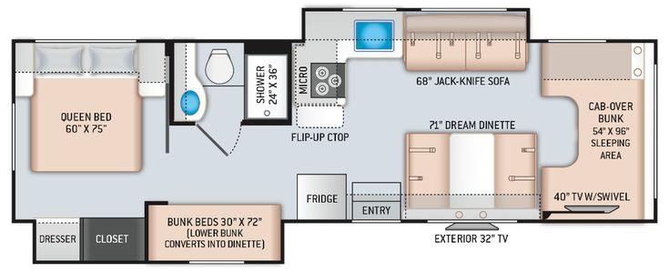 Pin by evajjfreeland on dream moterhome in 2020 floor
