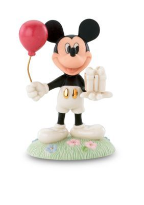 Lenox Multi Mickeys Birthday Gift Figurine - Online Only