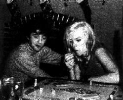 Jimmy Page and Jackie DeShannon