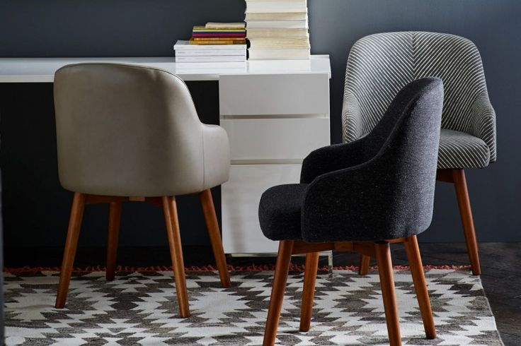 Saddle Chair - Guest Chairs -  West Elm Workspace