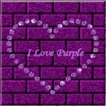 I love purple - Why Yes I Do !!!