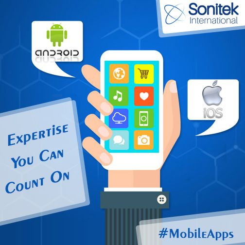 Mobile Apps that Grow Your Business!! Know more here: https://www.sonitek.ca #androidapps #ios #apps #sonitekinternational