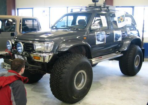 Toyota Four Runner Doublecab
