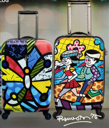 BRITTO Luggage by Heys USA - The Art of Modern Luggage. Durable hardside luggage with spinner wheels and bright colors.