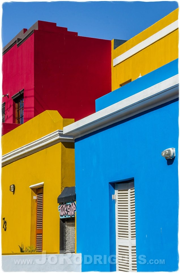 Bo Kaap - This is a wonderful, and rather varied as it is colourful, area of Cape Town. Enjoy the contrast of colour, decay, and development.