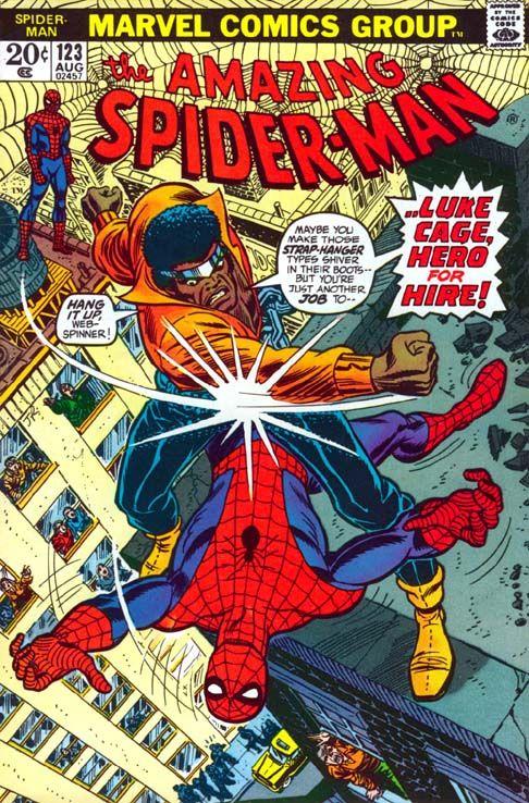 Marvel Comics, 12, Luke Cage, Hero For Hire, 12 Days Of Sweet Christmas, Iron Fist, Power Man, Superhero, Comic Book, 70's, Retro, Blaxploitation, Hollywood Gone Geek, HGG, @Hollywood GoneGeek, Spiderman, Amazing Spiderman