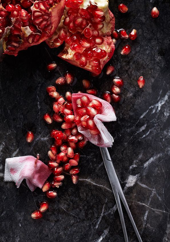 It's Nice That : Gustav Almestål's makes food oddly erotic in his O Gluttony! Divine gluttony! series for The Gourmand