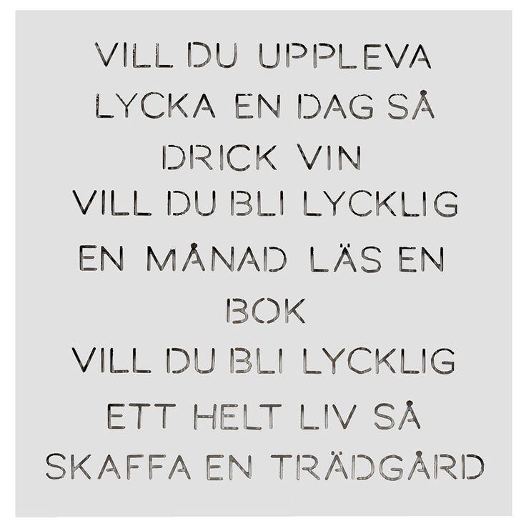 "Odla Trädgårdspoesi ""Vill du"", Vit, Ernst Kirchsteiger"
