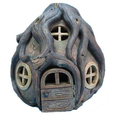 Hi-Line Gift Ltd. Fairy Garden Stone House with Roots