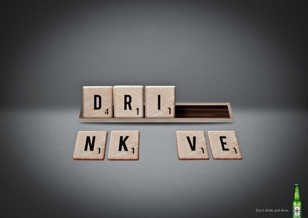 Heineken: Don't drink and drive #creative #ad #marketing
