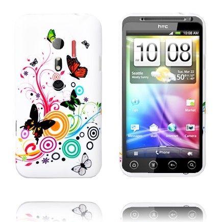 Symphony (Sekalaiset Perhoset) HTC Evo 3D Silikonisuojus