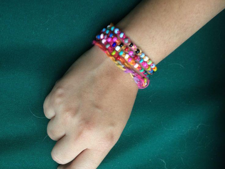 Colorful Crochet Necklace/Bracelet by thetopangadragon on Etsy https://www.etsy.com/listing/279329920/colorful-crochet-necklacebracelet