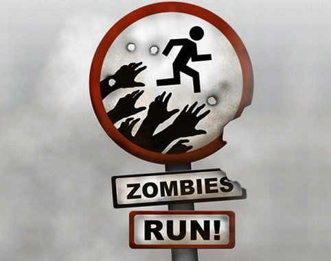 Train for a 5k with this zombie themed app.