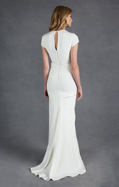 Designer wedding dress gallery nicole miller wedding for Nicole miller beach wedding dress