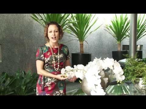 O jeito chique de usar flores artificiais - YouTube