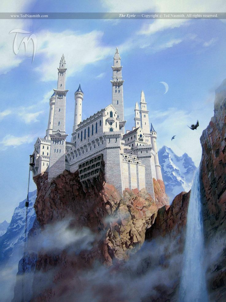 The Eyrie. A Song of Ice and Fire. #GoT #asoiaf