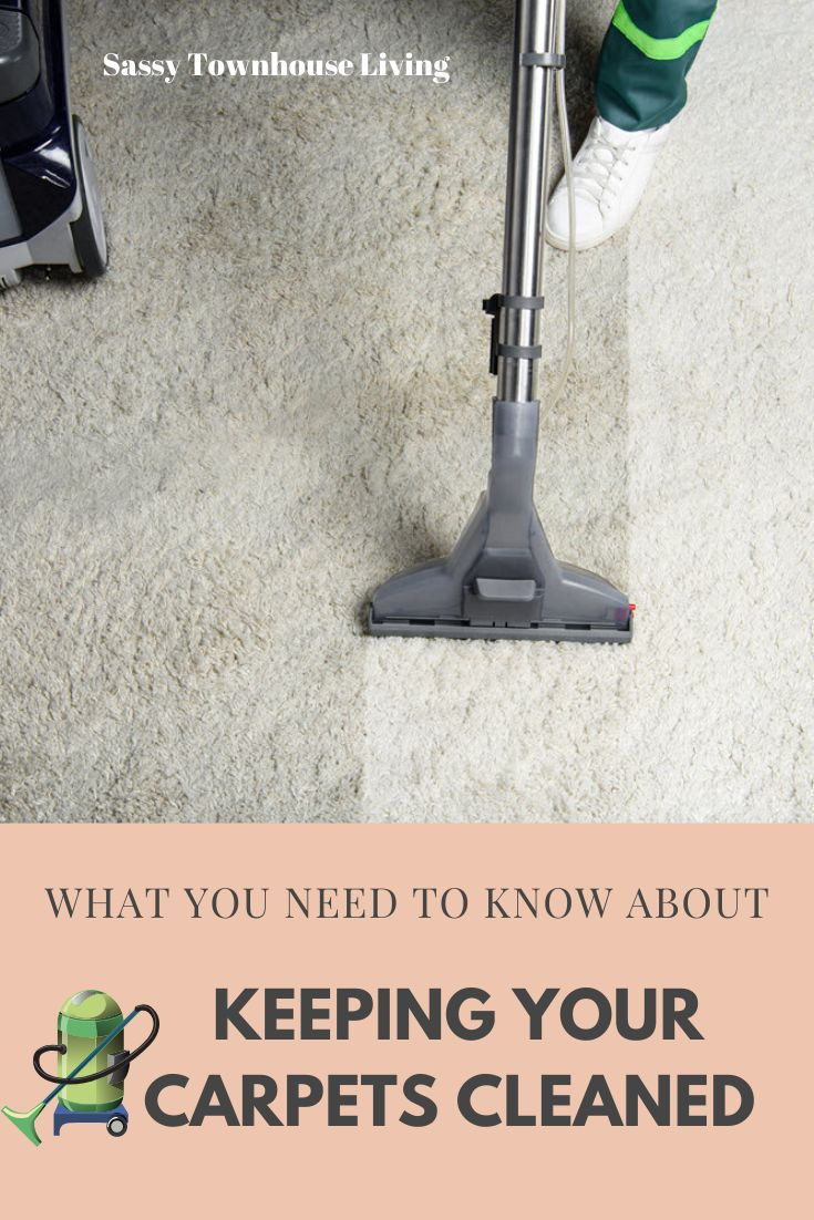 What You Need To Know About Keeping Your Carpets Cleaned ...