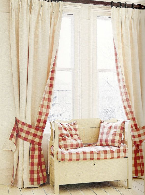 Best 25 Red And White Curtains Ideas On Pinterest