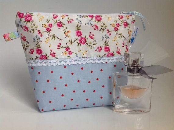 Cath Kidston at IKEA Rosali Fabric Cosmetic Bag by sewmoira
