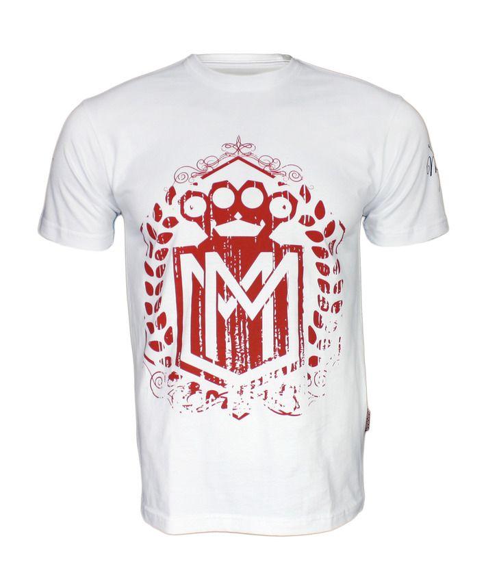 Koszulka 'Logo' biała - przód ---> Streetwear shop - odzież uliczna, kibicowska i patriotyczna / Przepnij pina!