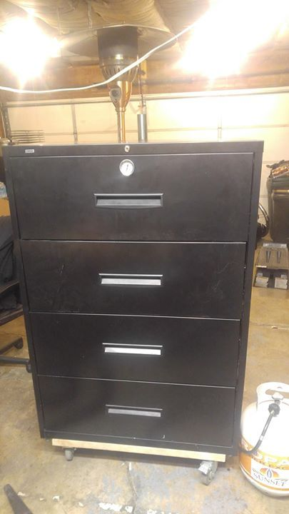 Filing cabinet jerky smoker Check out the full project http://ift.tt/2lXoQ75 Don't Forget to Like Comment and Share! - http://ift.tt/1HQJd81
