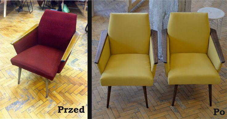 Fotele z lat 70tych w nowej odsłonie!