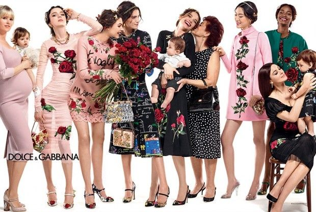 Dolce & Gabbana redefines the idea of family for its fall-winter 2015 ad campaign [Fashion]