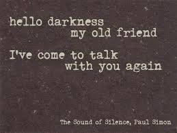 Resultado de imagem para the sounds of silence