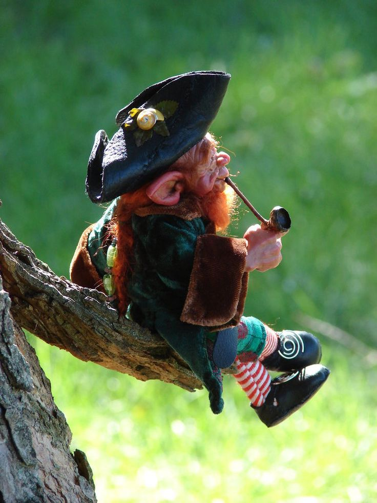Leprechauns are small, magical beings that grant luck to the world. Leprechauns live in their own realm which and can teleport through Rainbows. These Rainbows are in the sky all the time but can only be seen by humans when it rains. Leprechauns light them up with their shillelaghs