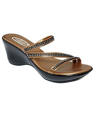 Callisto Shoes, Starlite Wedge Sandals - Shoes - Macy's