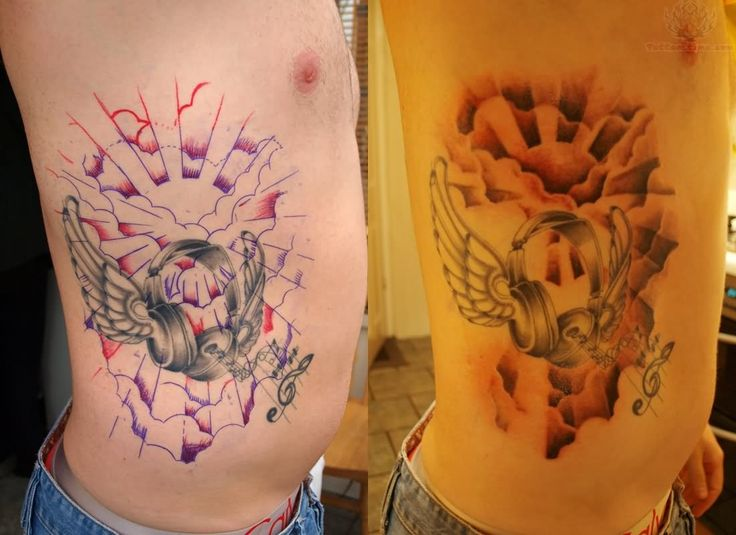 20 Best Clouds And Letters Tattoo Designs Images On