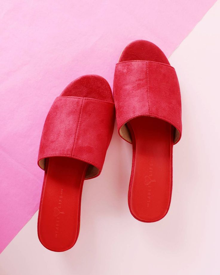 Fell in love with these thelabellife red mules i usually
