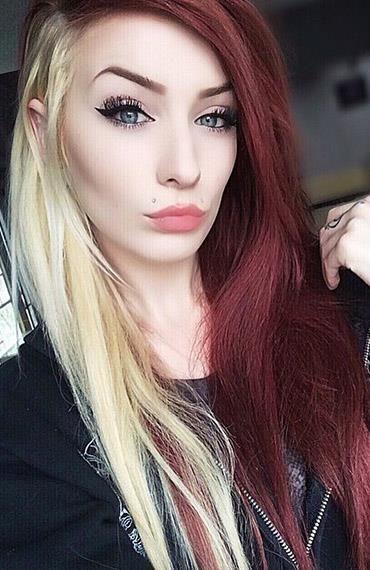 Best 20+ Half dyed hair ideas on Pinterest | Cotton candy hair ...