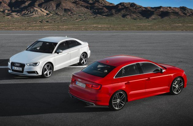 Rain won't stop play for Audi Quattro drivers. A3 Saloon, A6 Saloon and A6 Avant models are ready to weather the storm in winter 2013