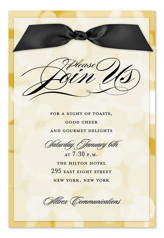 Best 25 Corporate invitation ideas – Corporate Invitation Card
