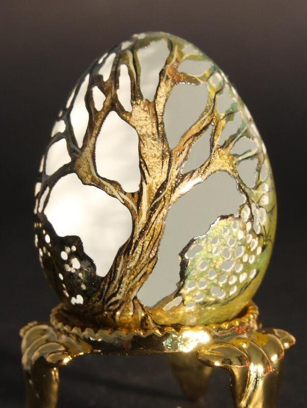 Acheter un oeuf décoré sur la galerie d' Art et Artisanat du Monde