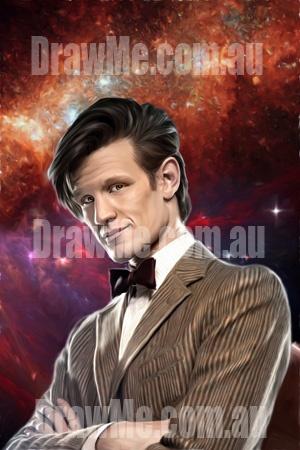 Dr Who portrait from DrawMe.com.au