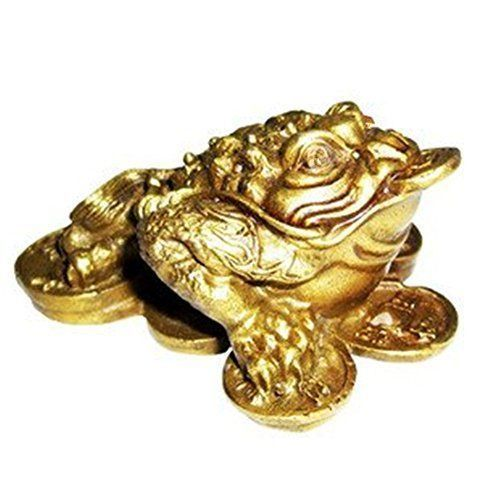 "The Money Frog, also called ""Three Legged Toad"", is the most prominent icons of prosperity and monetary gain in Feng Shui, and can often be spotted beside cash registers, receptions and owners' desks all across Asia."