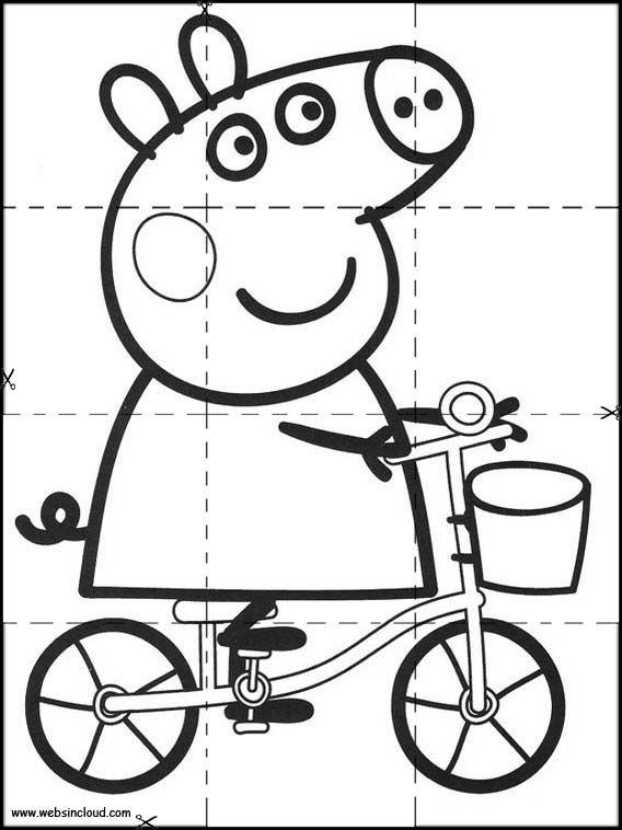 Rompecabezas Recortables Para Imprimir Para Ninos Peppa Pig 2