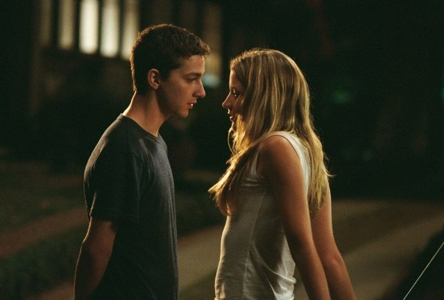 Still of Shia LaBeouf and Sarah Roemer in Disturbia