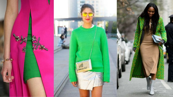 #Pantone released its color of the year 2017. It is called #Greenery 15-0343. Do you follow Pantone color guide? Let's look at some of the #outfit ideas today. #springoutfits